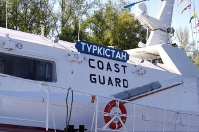 «Түркістан» кемесі теңізге жол тартты